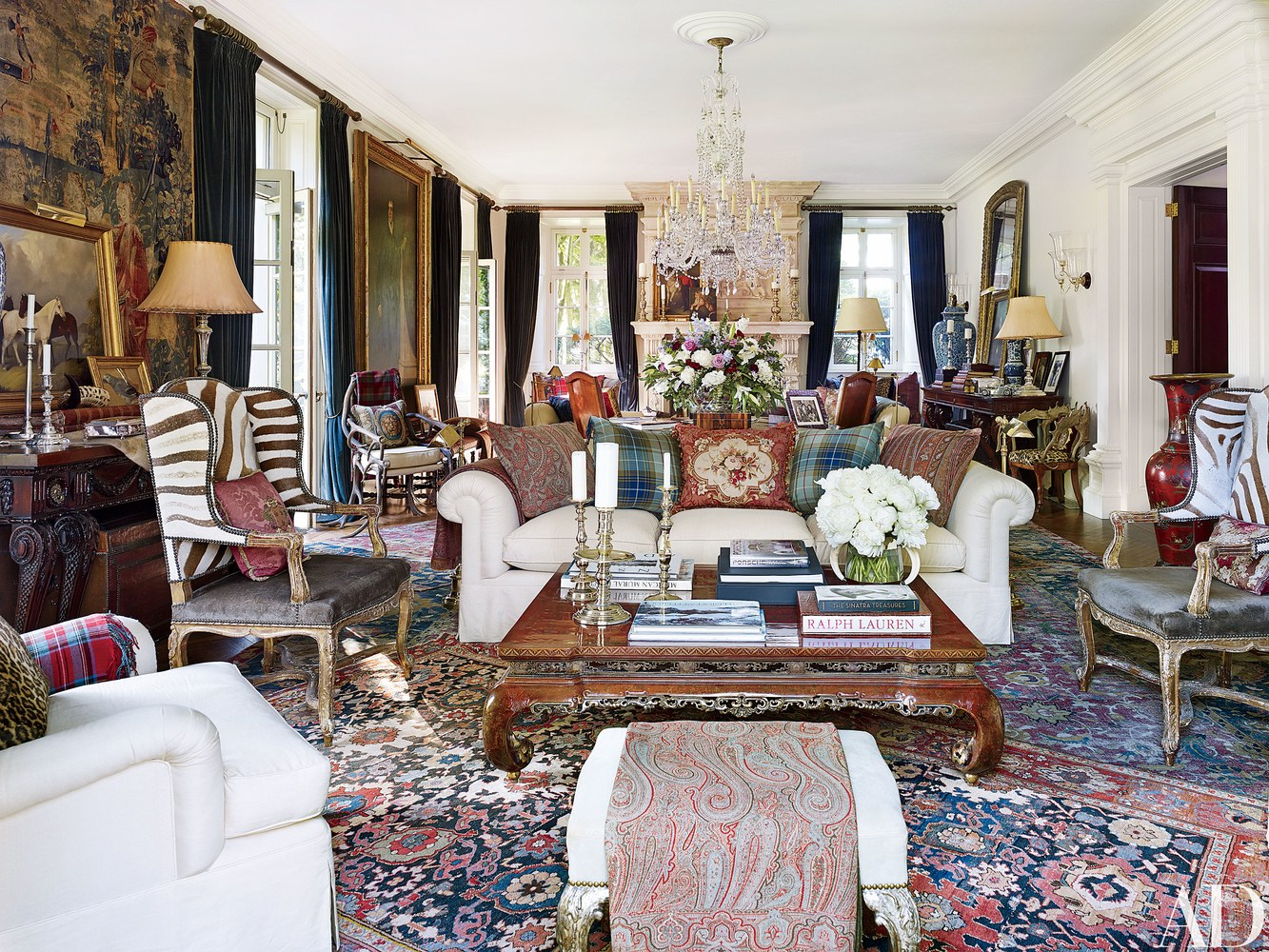 Interior Focus // Ralph Lauren\'s NY home - Poppy Bevan Design Studio