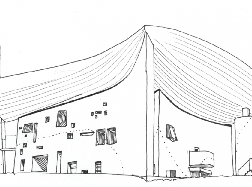 Drawing Le Corbusier
